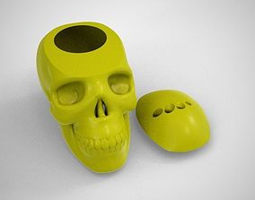 Skull Box 3D printable model container
