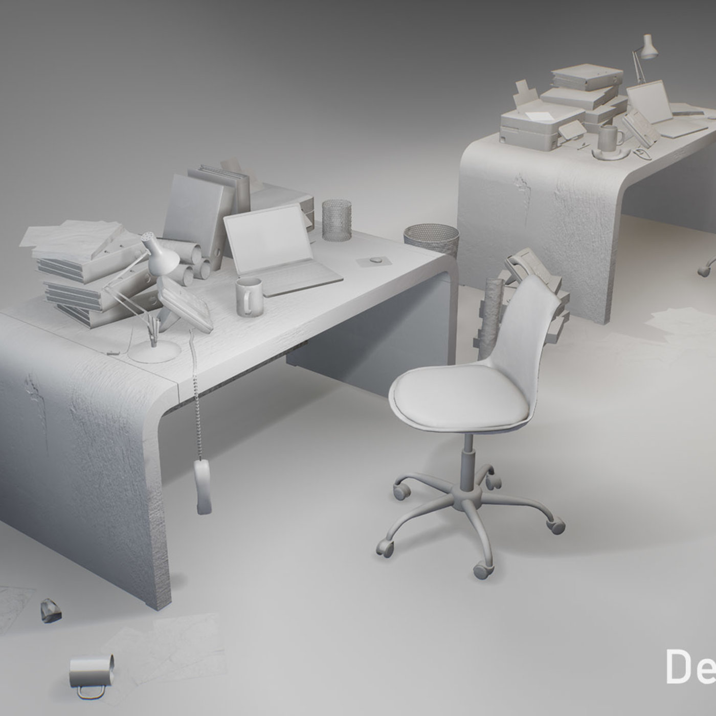 Post-apocalyptic office