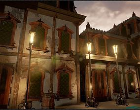 3D asset Victorian style house