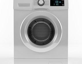 3D model machine Washing Machine LG FH4G7TDY0