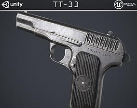 TT-33 Pistol 3D model