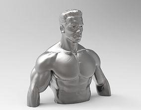 Sculpture of Terminator 3D print model