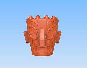 3D print model Tiki head