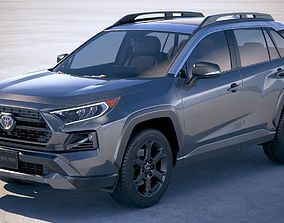 3D model Toyota RAV4 TRD Off-Road 2020
