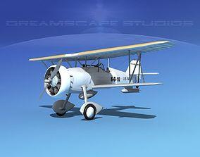 Curtiss F-11-C2 Goshawk V04 3D