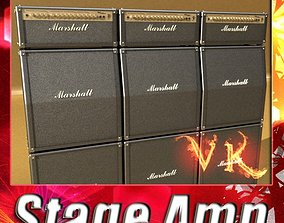 3D model Stage Amplifier High Detail