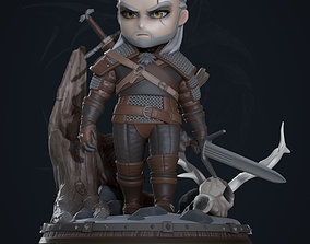 Geralt - Witcher 3D printable model