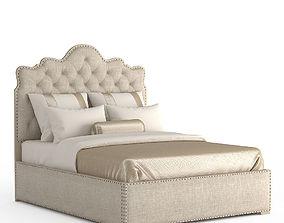 Glenwood Flora Queen Bed 3D model