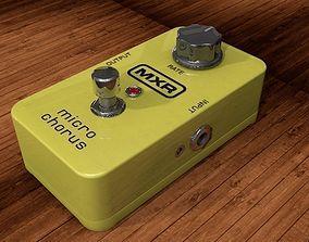 3D model Dunlop MXR Micro Chorus