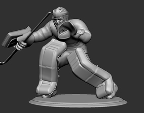 Regular Field Hockey Goalie 3D printable model 3