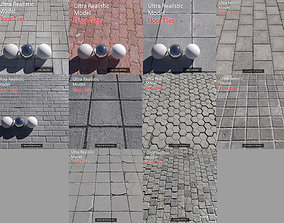 3D model Ultra realistic Floor Tiles architectural