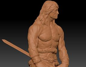 Conan the Barbarian 3D model