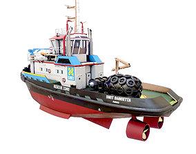 3D asset Smith Damietta tugboat