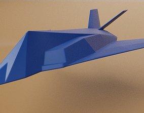 3D print model Lockheed F-117 Nighthawk