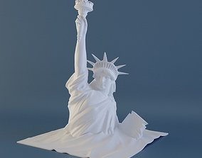 sand Statue of Liberty 3D printable model