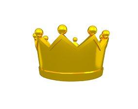 Crown v2 007 3D asset