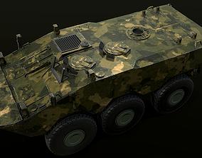 3D model Armored Brazilian Vehicle - VBTP Guarani
