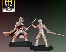 PACK CHOSEN ONE V KNIGHT OF HOPE wars 3D print model