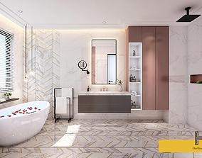 005-Hanhart-Modern-Bathroom-toilet- rendered-max2015 3D