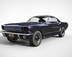 3D model ford mustan gt1967