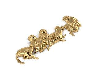 miniatures 3D print model Monkey