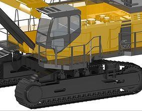 Komatsu PC1250 Excavator heavy-construction-machinery 3D