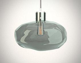 Modern luxurious hanging lamp - Heathfield 3D model 2