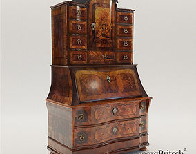 Baroque bureau cabinet - Germany - 18th century - Georg 3D