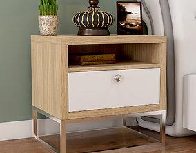 3D model Bed Side Table cabinet