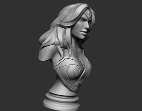 Wonder Woman Sculpt Bust Toy 3D print model