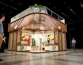 lobby 3D fair stand