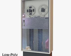 3D model animated Retro Computer 02