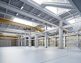 3D Warehouse Interior - Exterior