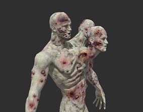 Zombie Mutant 2 3D model