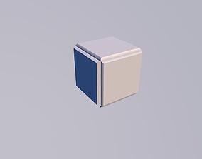 Sci Fi Objects - Pyramid Sphere Torus 2019 Low 3D model 2