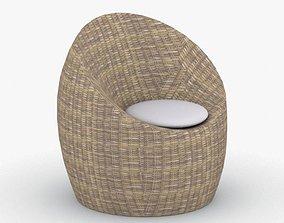 0634 - Bean Bag Armchair 3D asset
