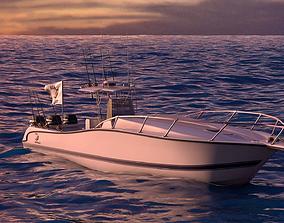 3D model Boston Whaler Center Console Sport Fishing