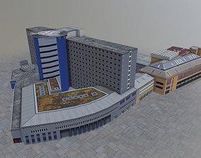 3D asset Innsbruck Chirurgische Klinik