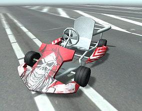 Go Kart Car Pack for Mobile Games Unity3d realtime