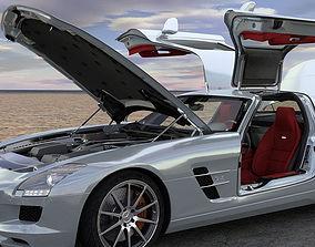3D model SLS AMG
