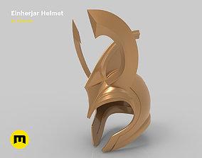 Einherjar helmet 3D print model
