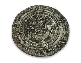 3D model Aztec stone