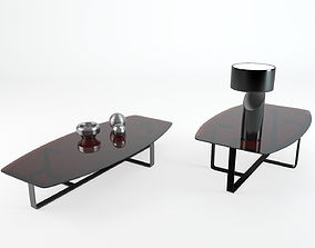 Table Tempo Natuzzi 3D model