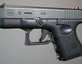 Glock 26 3D asset