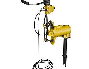 Electric tamper 3D asset