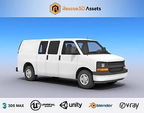 3D model Full Size Van