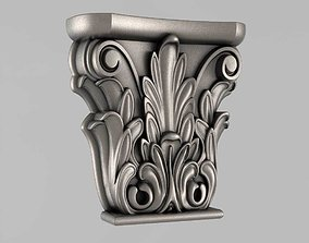 ornament 3D printable model Capitals
