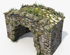 3D Stone Bridge