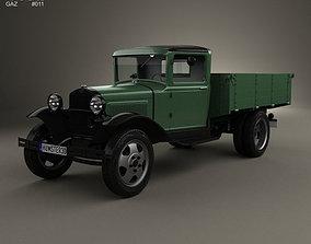 GAZ-AA Flatbed Truck 1932 3D