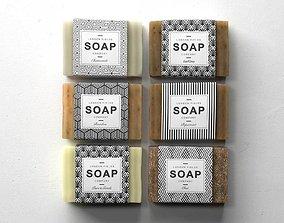 3D model Soap Set 01